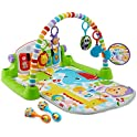 Fisher-Price Deluxe Kick 'n Play Piano Gym & Maracas Bundle