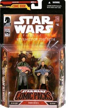 Star Wars: 30th Anniversary Collection: Bail Organa & Obi-Wan Kenobi with Baby Luke & Leia Action Figure (30th Anniversary Obi Wan)