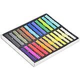 24 Farben ungiftige Haartönung, Kalktönung - weiches Pastell Salon-Kit by DELIAWINTERFEL