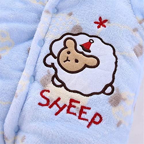 Baby Strampler Jungen M/ädchen Langarm Schlafanzug Baumwolle Neugeborenes Overalls S/äugling Spielanzug Baby-Nachtw/äsche 0-12 Monate