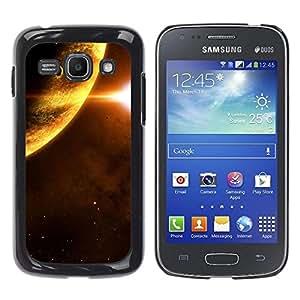Be Good Phone Accessory // Dura Cáscara cubierta Protectora Caso Carcasa Funda de Protección para Samsung Galaxy Ace 3 GT-S7270 GT-S7275 GT-S7272 // Space Planet