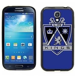 Samsung Galaxy S4 SIIII Black Rubber Silicone Case - Kings Hockey LA Los Angeles by kobestar