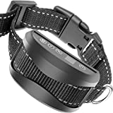 TIFTAF Bark Collar [1 Year Warranty, 2018 Upgrade] Harmless & Humane Anti Barking Control Device Train Your Pet. Safe for Large Medium & Small Dog Rechargeable Rainproof Lightweight