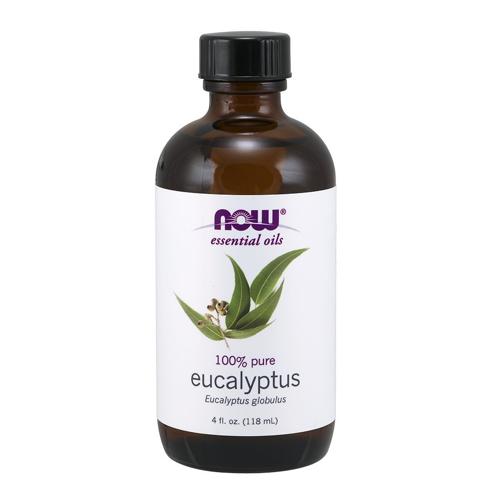 NOW Eucalyptus Essential Oil, 4-Ounce NOW Foods 7546