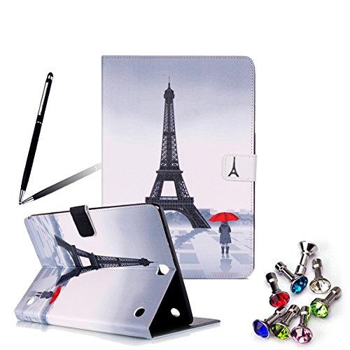 ANNNWZZD Funda Carcasa PU Cuero para Samsung Galaxy Tab A 9.7 SM-T550 Piel Case Cover con Support, Sleep Wake,A07 A16