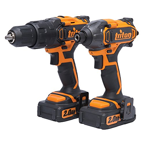 Triton T20TP02 Twin-Pack with Combo Hammer Drill and Impact Driver