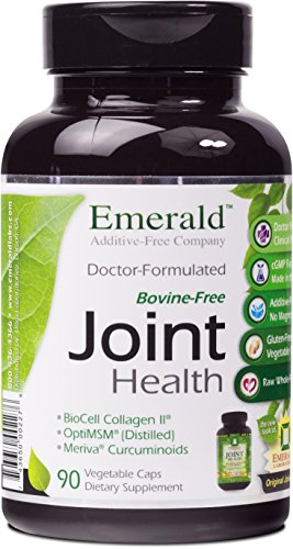 Emerald Laboratories - Joint Health - with BioCell® Collagen II, Meriva® & Opti MSM® - 90 Vegetable Capsules
