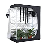 Indoor Plant Growing Room Cultivation Plant Grow Tent Reflective 600D Waterproof Mylar Hydroponic