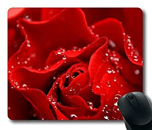 Design Mouse Pad Desktop Laptop Mousepads Love Is Like A Red Rose Comfortable Office Mouse Pad Mat Cute Gaming Mouse Pad