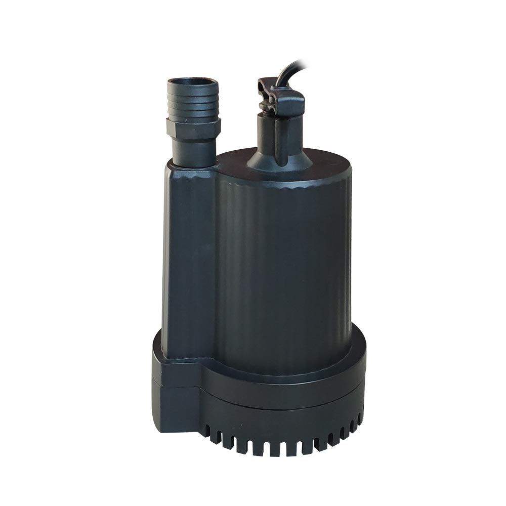 AQUAPRO 1/6 HP Submersible Utility Pump, 1500 GPH, Corrosion-resistant, Oil-filled Motor, 1 Year Warranty by AQUAPRO (Image #2)
