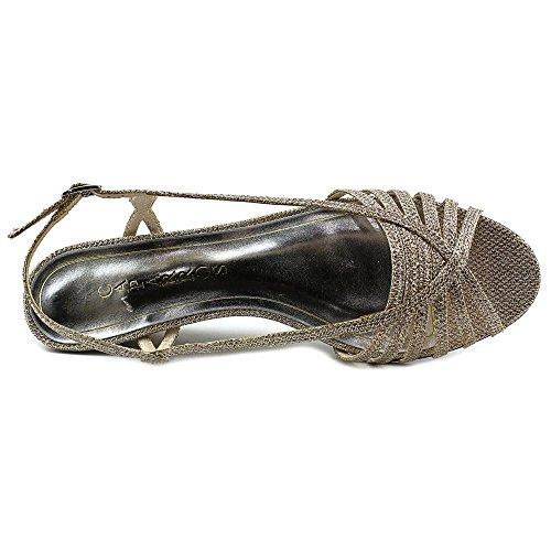 Caparros mujeres del Tango vestido sandalia Piel (Nude Sparkle)