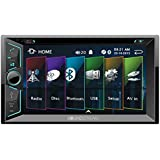 Soundstream VR-624B Double DIN Bluetooth In-Dash DVD/CD/AM/FM Car Stereo Receiver With 6 Screen