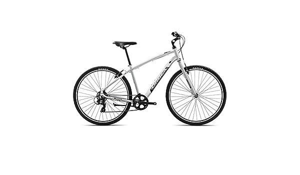 Orbea Comfort Bicicleta de trekking 40 7 marchas, 28 pulgadas Suspensión Hombre Mujer Unisex Tiempo Libre Bike, i404, color Weiß, tamaño extra-large: Amazon.es: Deportes y aire libre