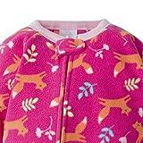 Gerber Baby Girls' 4-Pack Blanket Sleeper, Fox