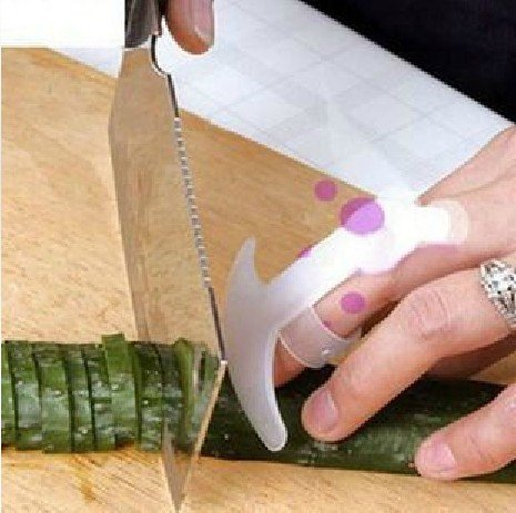 DGI MART Finger Protecting Tools When Cutting in Kitchen Practical for Home & Kitchen Use