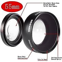 NEEWER Digital 55mm Macro Wide Angle Lens 0.45X High Definition For Sony DSLR A230 A350 A300 A330 A500 A700 A900 A100 A200 with Lens Bag