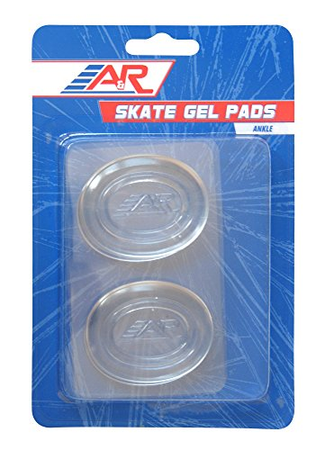 A&R Sports Ankle Skate Gel Pad (Pack of (Hockey Pad)