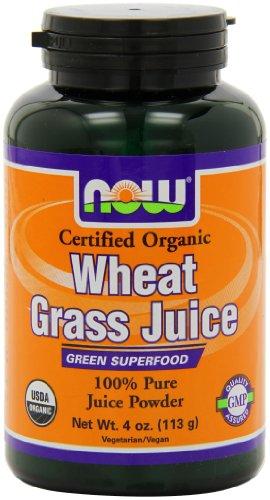 NOW Organic Wheat Powder 4 Ounce