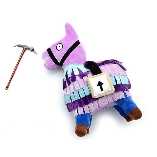 Amazon.com: Leegoal Llama Plush Toy, Cute Soft Stuffed Animal Toys Fortnite Loot Llama Plush Toy Figure Doll Video Gamer Baby Kids Happy Birthday (Medium, ...