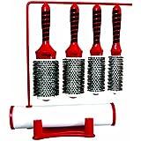 HAIRART iTech Magnetic Tourmaline Boar & Nylon Bristle 4 Brush Set 76234