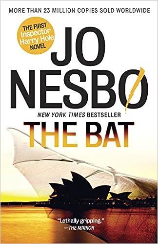Amazon.com: The Bat: The First Inspector Harry Hole Novel (Harry Hole  Series) (9780345807090): Jo Nesbo, Don Bartlett: Books