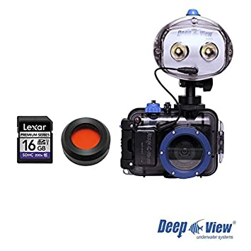 Pack Photo Plongee Explorer Light Plus DeepView: APN Nikon ...