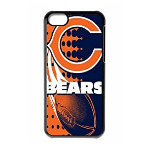 Best Phone case At MengHaiXin Store Team Sports Chicago Bears Pattern 255 For Iphone 5c