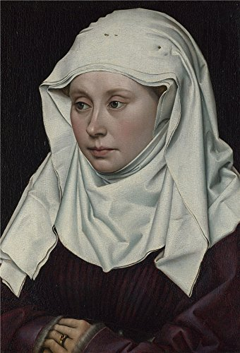 [Polyster Canvas ,the Imitations Art DecorativeCanvas Prints Of Oil Painting 'Robert Campin A Woman ', 18 X 27 Inch / 46 X 67 Cm Is Best For Home Office Artwork And Home Gallery Art And] (C Viper Costumes)