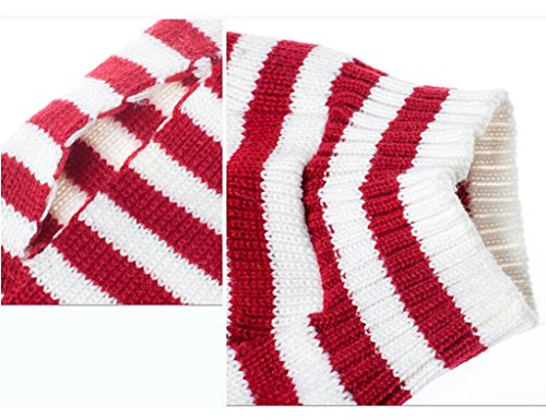 PetsLove Christmas Santa Claus Dog Clothes Cat Sweaters Pet Jerseys Clothing Gear Coats Apparel XS