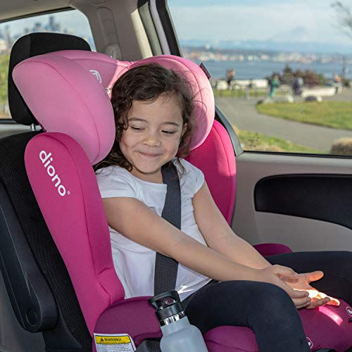 514szHZEd4L - Diono Cambria 2 Latch, 2-in-1 Belt Positioning Booster Seat, High-Back To Backless Booster XL Space And Room To Grow, 8 Years 1 Booster Seat, Ultimate Safety And Protection, Blue