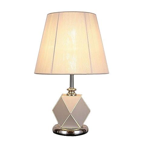 SACYSAC Lámpara de Noche Lámpara de Mesa de Hierro Forjado ...