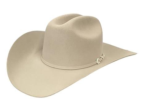 Stetson Western Hat Cowboy 5X Felt Lariat 6 7 8 Silver SFLRAT-724261 ... b1731e618fa