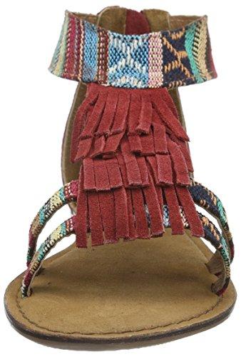 Tamaris 28171 - Sandalias Mujer Varios Colores - Mehrfarbig (SCARLET COMB 582)