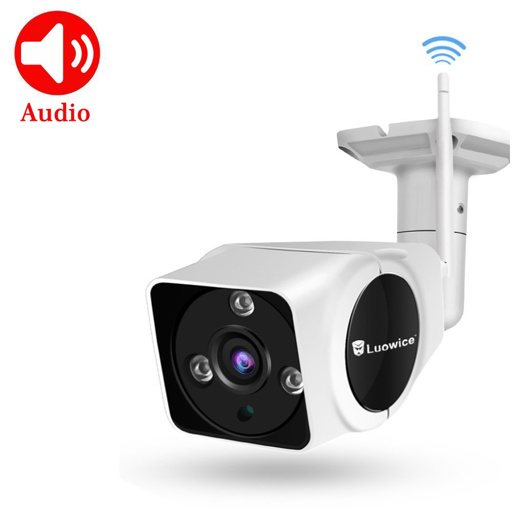 Luowice Wireless Security Camera Outdoor WIFI IP Camera Waterproof Surveillance Video Camera Night Vision 50ft with One-Way Audio 720P