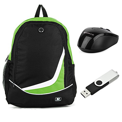 sumaclife-lightweight-compact-nylon-backpack-casual-daypack-green-for-toshiba-133-to-156-laptop-with