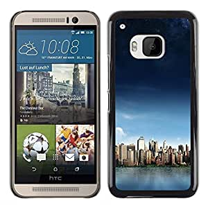 Paccase / SLIM PC / Aliminium Casa Carcasa Funda Case Cover - Nature Beautiful Forrest Green 140 - HTC One M9