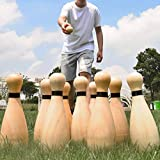 Outdoor Giant Lawn Bowling Games for Family Kids