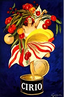 CIRIO ITALIAN CANNED FOOD COMPANY WOMAN HOLDING VEGETABLES IN CAN ITALY CAPPIELLO 16