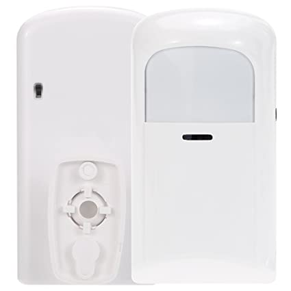 KKmoon 433MHZ Detector Inflarrojo Inalámbrico PIR Sensor de Movimiento Infrarrojo pasivo Dual para Sistema de Alarma