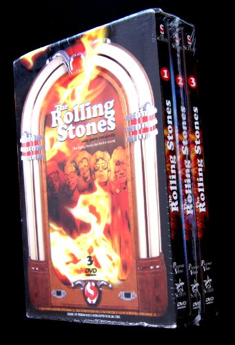 The Rolling Stones: Just for the Record (3DVD boxset) [NTSC/Region 1&4 dvd. Import - Latin America] (Spanish subtitles)