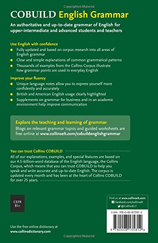 Collins COBUILD English Grammar (Collins CoBUILD Grammar): Collins ...
