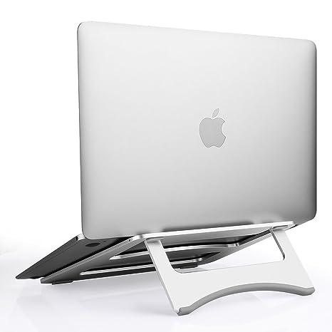 Soporte Plegable para Ordenador portátil, Soporte de Escritorio portátil para portátil y Tableta Dentro de