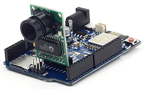 arducam esp8266 board and ov2640 mini module camera shield compatible with arduino  uno r3