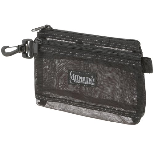 Maxpedition Gear Moire Pouch, 8 x 6-Inch, Black Mesh
