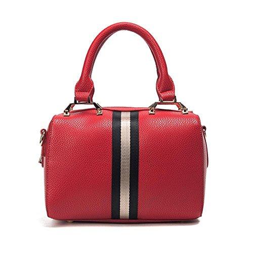 Aoligei Couleur casual sac cent femmes sac Simple tour Messager de seule épaule sac Bag E