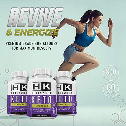 HK - Hollywood Keto Exteme BHB - Premium Grade BHB Ketones for Maximum Results - 30 Day Supply 5