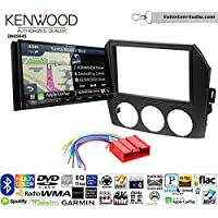 Volunteer Audio Kenwood Excelon DNX994S Double Din Radio Install Kit with GPS Navigation Apple CarPlay Android Auto Fits 2006-2008 Mazda MX-5