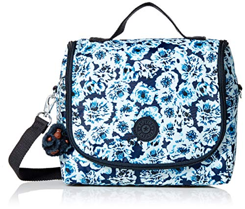 (Kipling Women's Kichirou Insulated Lunch Bag, Removable, Adjustable Crossbody Bag, Zip Closure, roaming roses)