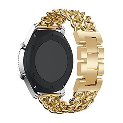Alonea Metal Chain Style Bracelet Smart Watch Band Strap For Samsung Gear S3