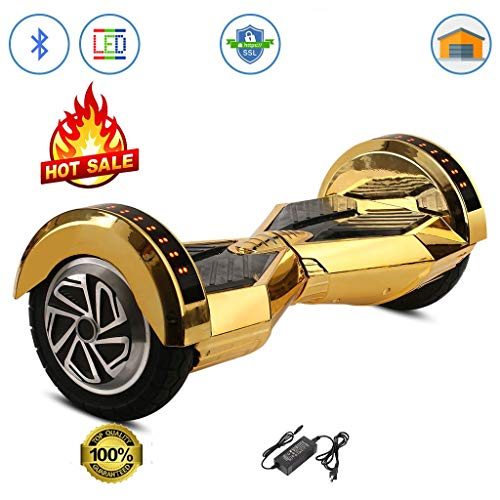Gold Hoverboard Lambo Safe Smart Self Balancing Electric Sco